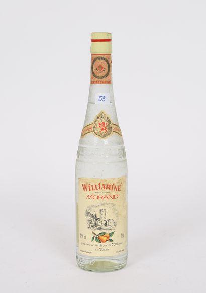 Eau de vie (x1)  Williamine  Morand - Suisse...