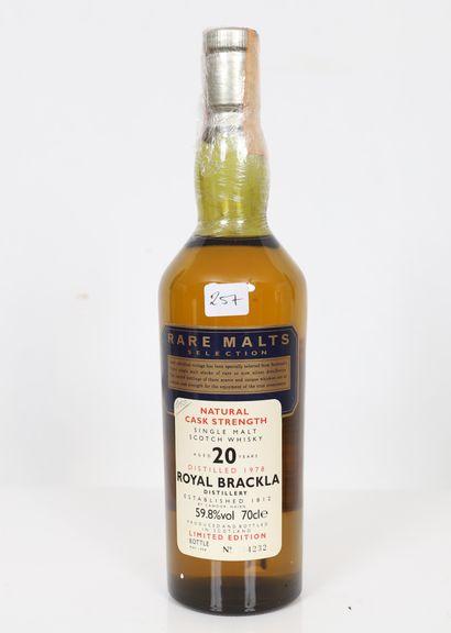 Royal Brackla (x1) Rare Malts selction 20...