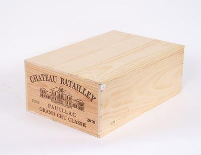 Château Batailley (x12)  Grand Cru Classé...