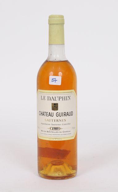 Château Guiraud (x1)  Le Dauphin  Sauternes...