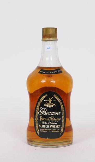 Benmore (x1)  Scotch Whisky  Black Label...