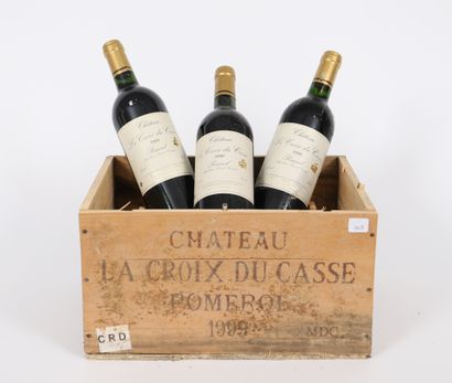 Château La croix Du Casse (x6)  Pomerol  1999...