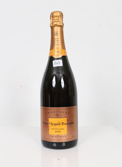 Veuve Clicquot (x1) Vintage rosé 1999 0,75L...
