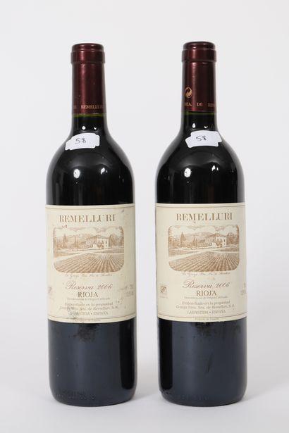 Remelluri (x2)  Rioja  Reserva 2006  0,7...