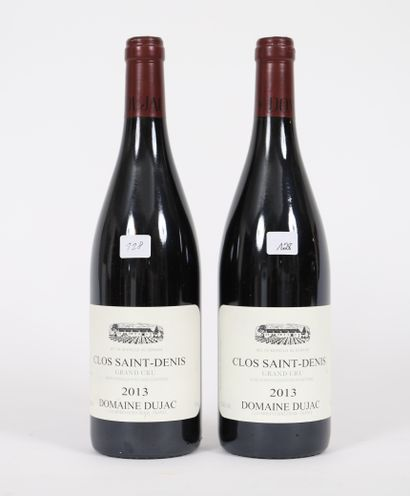 Clos Saint Denis (x2)  Grand Cru  2013  Domaine...