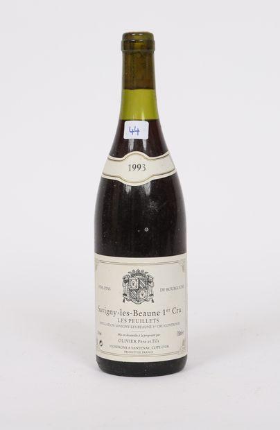 Savigny-Les-Beaune (x1)  1er cru  Les Peuillets  1993  Olivier Père et fils  0,...