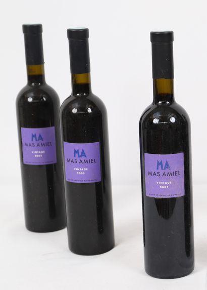 Maury Mas Amiel (x3)  2005  0,75L
