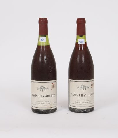 Mazis Chambertin (x2)  1978  Dupont-Tisserandot...