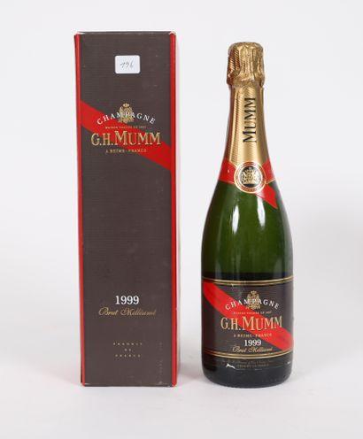 Mumm (x1)  Champagne brut  Millésimé 1999...