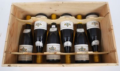 Bourgogne (x6)  Puligny-Montrachet  2005...