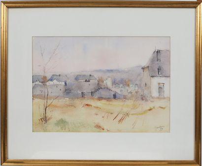Jules Leclercq (1915-1992)  Artiste peintre...