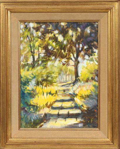 Fernand Thielen (né en 1946)  Artiste peintre...