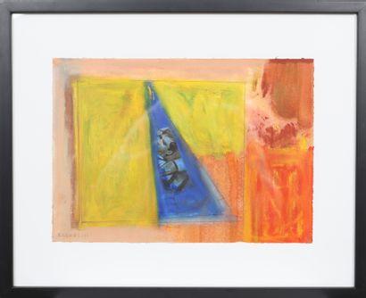 Kevin B (né en 1989)  Artiste peintre luxembourgeois,...