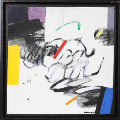 KRAUS Henri (né en 1943)  Artiste peintre...