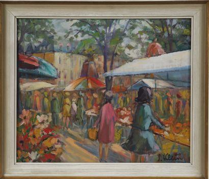 Josy Klein (né en 1924)  Artiste peintre...
