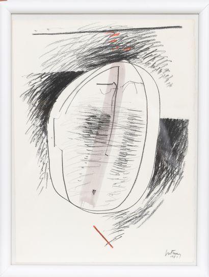 Roger Bertemes (1927-2006)  Artiste peintre...