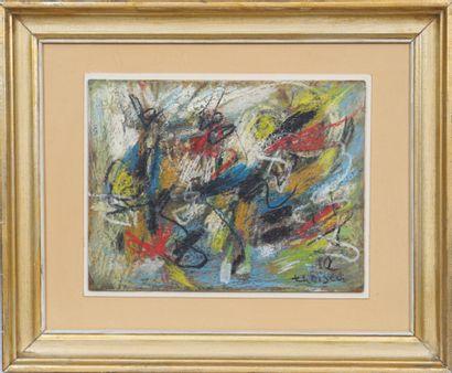 Lou Theisen (1914-1995)  Artiste peintre...