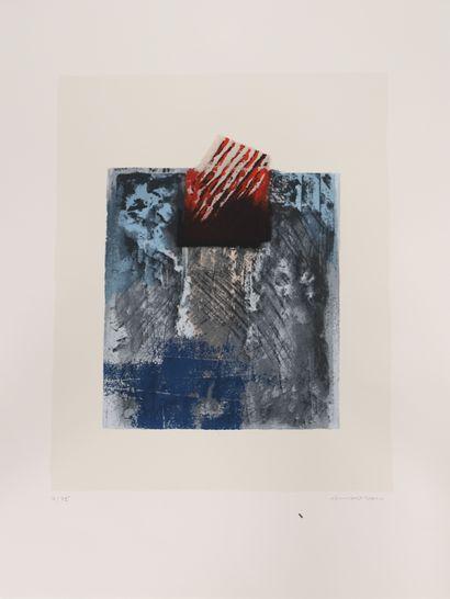 François Schortgen (1935-2015)  Artiste peintre...