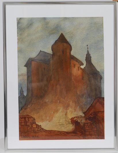 Sosthène Weis (1872-1941)  Célèbre artiste...