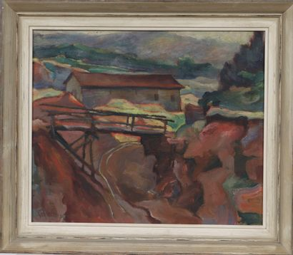 Harry Rabinger (1895-1966)  Artiste peintre...