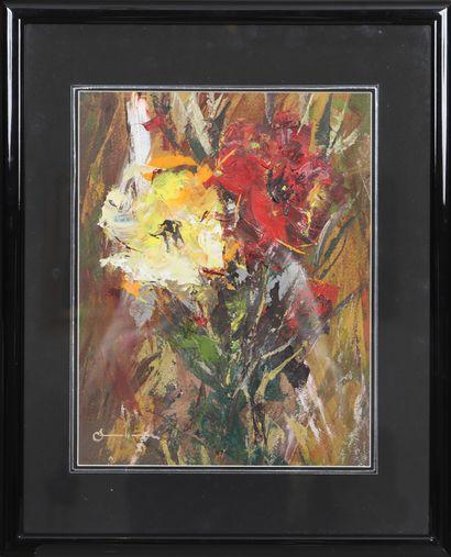 Theophile Steffen (1921-2021)  Artiste peintre...