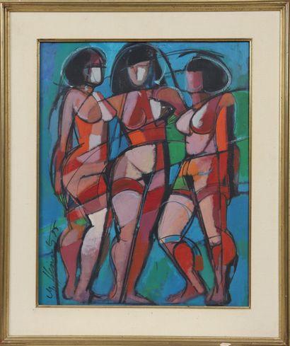 Michel Heintz (né en 1944)  Artiste peintre...