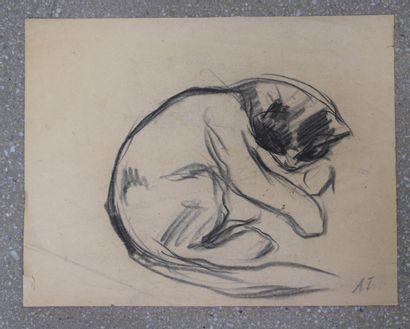 Auguste Trémont (1892-1980)  Célébre peintre,...
