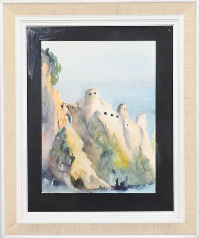 Mars Schmit (1931-1990)  Artiste peintre...