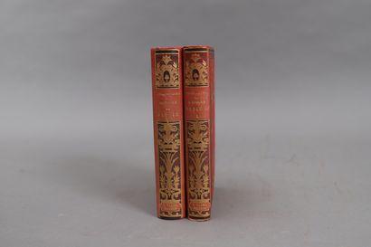 HISTOIRE de PIE IX  2 volumes reliés.