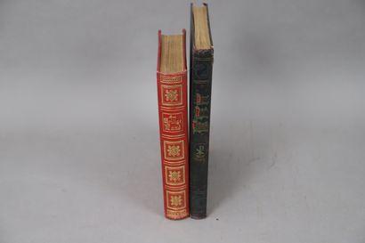 LOT de deux volumes en langue allemande