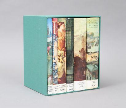 LAGARDE et MICHARD – HISTOIRE  6 volumes...