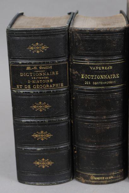 DICTIONNAIRES HISTOIRE – GEOGRAPHIE et  CONTEMPORAINS...