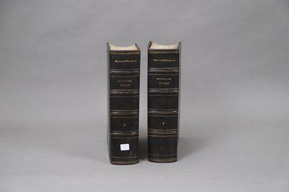 DICTIONNAIRE FRANÇAIS 1884  2 volumes re...