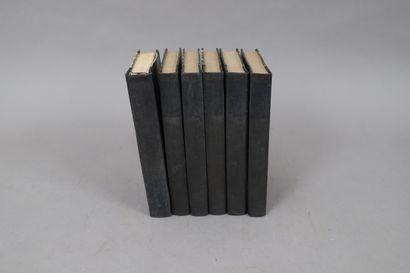 ŒUVRES de BOSSUET  Bruselles 1818,  6 volumes...