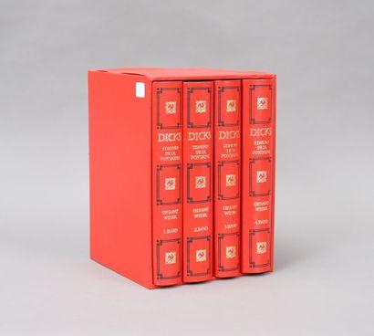 DICKS EDMOND DE LA FONTAINE  4 volumes modernes...