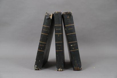 DE LILLE – L'ENEIDE  3 volumes.