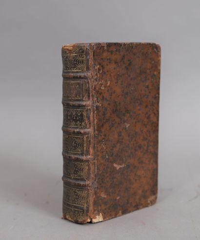 THEOLOGIE. Tome second.  Rouen 1739.  Relié...