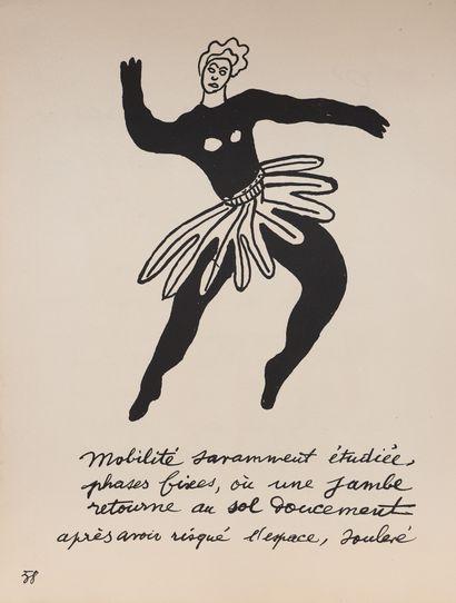 Fernand Leger (1881-1955)  Lithographie monochrome...