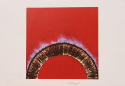 Bernard Aubertin (1934-2015)  Lithographie...