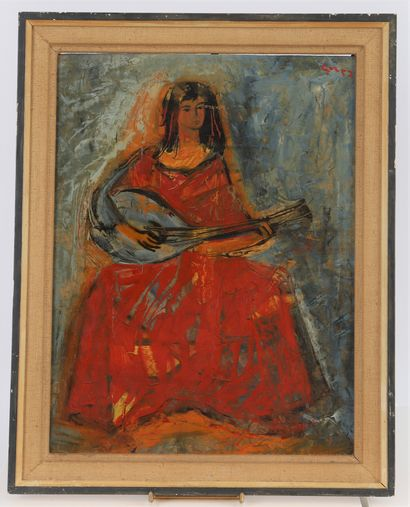 Ger Maas (1931-2020)  Artiste peintre luxembourgeoise,...