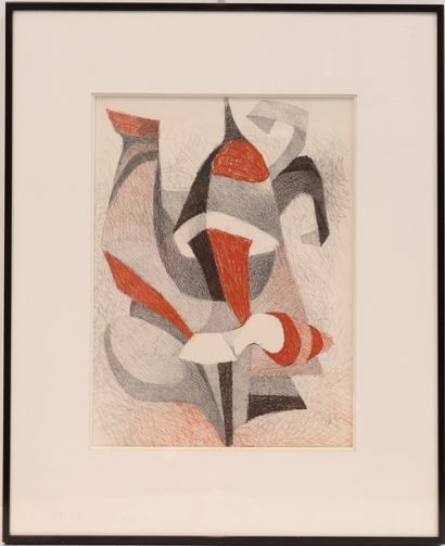PROBST Joseph (1911-1997)  Artiste peintre...