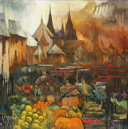 Gérard Gribaumont (né en 1951)  Artiste peintre...
