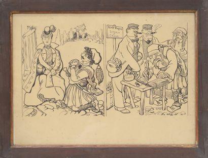 Caran d'Ache (1858-1909)  Dessinateur et...