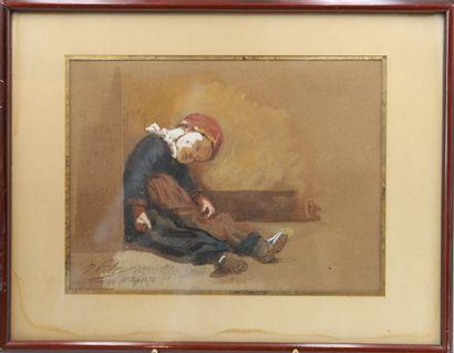 Isidore Pils (1815-1875)  Artiste peintre...
