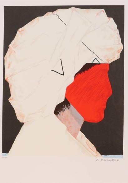 Arturo Carmassi (1925-2015)  Lithographie...