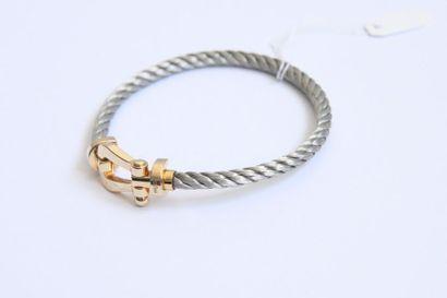 Un bracelet Fred, model 'force 10', fermoir...