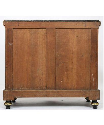 Exceptionnel meuble d'appui Louis XIV Attribué à BEFORT JEUNE XIXè D'après le médailler...