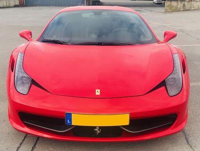 Ferrari 458 Italia - 2011 Première main. 18000 KM affiché au compteur. 575 chevaux...