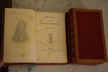 Comte Antoine HAMILTON, Paris 1812, chez...