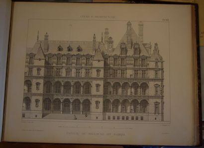 VIOLLET LE DUC. Entretiens sur l'Architecture....